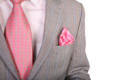Wraps suit necktie 2 Royalty Free Stock Photography