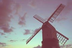 Wrawby-Windmühle Lizenzfreie Stockfotografie