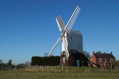 Wrawby-Windmühle Stockfotos