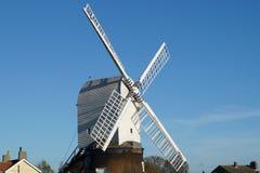 Wrawby-Windmühle Lizenzfreie Stockfotos