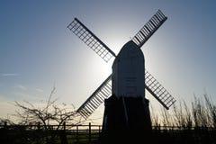 Wrawby-Windmühle Stockfoto