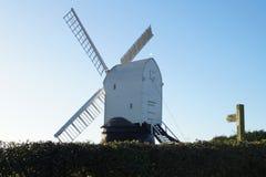 Wrawby-Windmühle Stockbilder