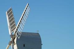 Wrawby-Windmühle Lizenzfreies Stockfoto
