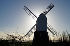 Wrawby Windmill stock photo
