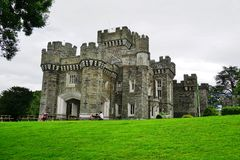 The Wray Castle near Lake Windermere in Cumbria, England Stock Images