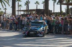 WRC汽车 免版税库存图片