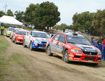 WRC 2008 - Rally d'Italia - Sardegna Royalty Free Stock Photography