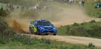 WRC 2008 - Rally d'Italia - Sardegna Royalty Free Stock Photos