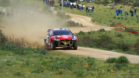 WRC 2008-Rally Italia-Sardegna Stock Photography