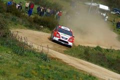 WRC 2008-Rally Italien-Sardegna stockfotos