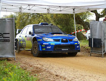 WRC 2008-Rally Italien-Sardegna stockfoto