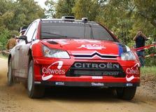 WRC 2008 - Sammlung d'italia - Sardegna stockbilder