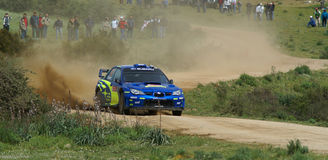 WRC 2008 - Sammlung d'Italia - Sardegna lizenzfreie stockfotos