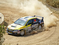 WRC 2009 - Rally D'Italia Sardegna Stock Photo