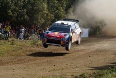 WRC 2009 - Reunión D'Italia Sardegna Foto de archivo