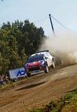 WRC 2009 - Sammlung D'Italia Sardegna stockbild