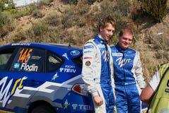WRC 2009 - Verzameling D'Italia Sardegna Stock Foto's