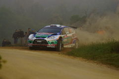 WRC 2011 Rally D'Italia Sardegna - AL QASSIMI Royalty Free Stock Images