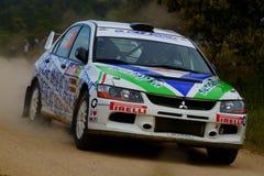 WRC 2011 Rally D'Italia Sardegna - FRISIERO Royalty Free Stock Image