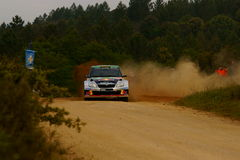 WRC 2011 Rally D'Italia Sardegna - GASSNER Royalty Free Stock Photo