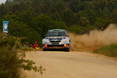 WRC 2011 Rally D'Italia Sardegna - HANNINEN Stock Photography
