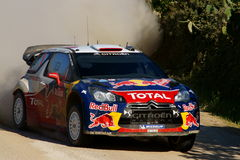 WRC 2011 Rally D'Italia Sardegna - LOEB Royalty Free Stock Photo