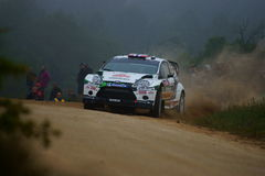 WRC 2011 Rally D'Italia Sardegna - OSTBERG Royalty Free Stock Images