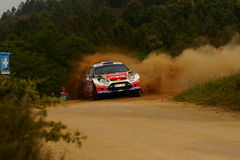 WRC 2011 Rally D'Italia Sardegna - PROKOP Royalty Free Stock Photos