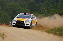 WRC 2011 Rally D'Italia Sardegna - SALO Royalty Free Stock Photography