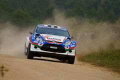 WRC 2011 Rally D'Italia Sardegna - TURAN Royalty Free Stock Photography