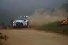 WRC 2011 Rally D'Italia Sardegna - WILSON Royalty Free Stock Photos