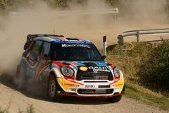 WRC 2011 Sammlung D'Italia Sardegna - ARAUJO Stockfoto