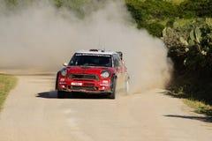 WRC 2011 Sammlung D'Italia Sardegna - SORDO Lizenzfreies Stockbild