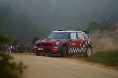 WRC 2011 Sammlung D'Italia Sardegna - SORDO Stockfotografie