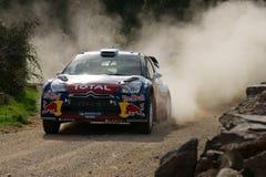 WRC 2012 Rally D'Italia Sardegna - HIRVONEN Royalty Free Stock Image