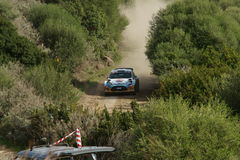 WRC 2012 Rally D'Italia Sardegna -KRUUDA KARL Royalty Free Stock Photos
