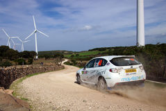 WRC 2012 Rally D'Italia Sardegna - LINERI Royalty Free Stock Photography