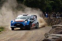 WRC 2012 Rally D'Italia Sardegna -OSTBERG Stock Image