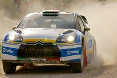 WRC 2012 Rally D'Italia Sardegna -PEDERSOLI Royalty Free Stock Image