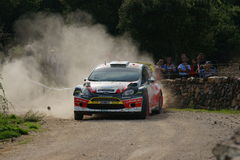 WRC 2012 Rally D'Italia Sardegna - PROKOP Royalty Free Stock Image