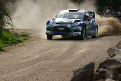WRC 2012 Rally D'Italia Sardegna - SOLBERG Royalty Free Stock Photos