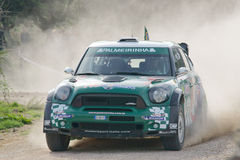 WRC 2012 Sammlung D'Italia Sardegna - NOBRE Stockbild