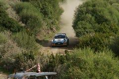 WRC 2012 Zlotny d'Italia Sardegna - KRUUDA KARL zdjęcia royalty free