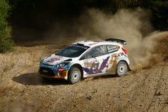 WRC 2012 Zlotny d'Italia Sardegna - KRUUDA KARL zdjęcie stock
