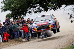 WRC champion Sebastien Loeb Royalty Free Stock Images