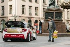 WRC Championship preparation in Strasbourg Royalty Free Stock Photos
