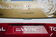 WRC Championship preparation in Strasbourg Stock Photo