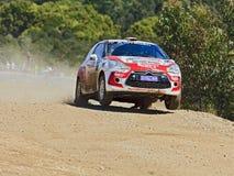 WRC Citroen Jump Stock Image