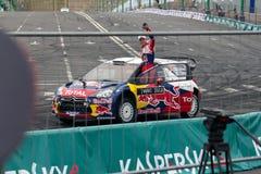 WRC Citroen - Mikko Hirvonen Foto de archivo