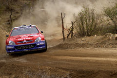 WRC CORONA RALLY MEXICO 2005 Royalty Free Stock Photography